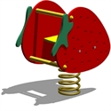 """Bilder von Federwippe """"Erdbeer"""""""
