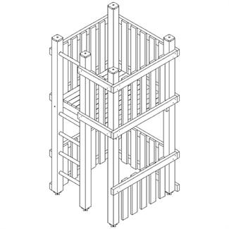einfach turm spielplatzger te kinderland. Black Bedroom Furniture Sets. Home Design Ideas