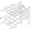 Bilder von Diagonalnetz mit Freeclimbing