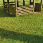 Rasengitterplatte, Fallhöhe 210 cm