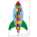 Hüpfspiel «Rakete»