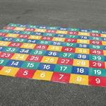 Lernspiel «Zahlenfeld 1-100»