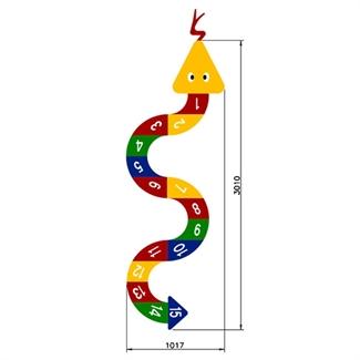Bilder von Lernspiel «Schlange»