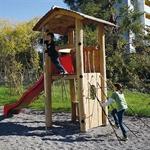 «Wasserturm mit Rutschbahn»