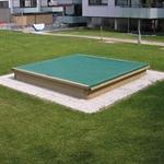 Sandkasten 250x250 cm