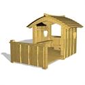 Bilder von Spielhaus «Bärenhöhle mit Balkon»