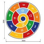 Hüpfspiel «Spirale»