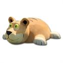 Bilder von 3D-Spielfigur «Tiger» hell