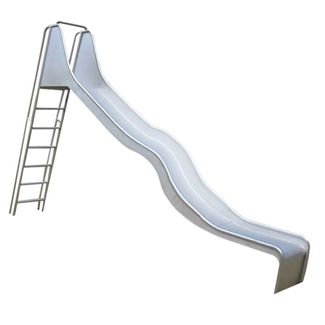Bilder von Leiterrutschbahn 2.8 m mit Welle