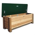 Holzkiste für Mühlespiel
