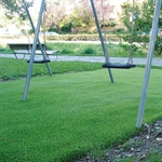Kunstrasen-Fallschutzplatte 140 cm