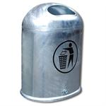 Ovaler Abfallbehälter